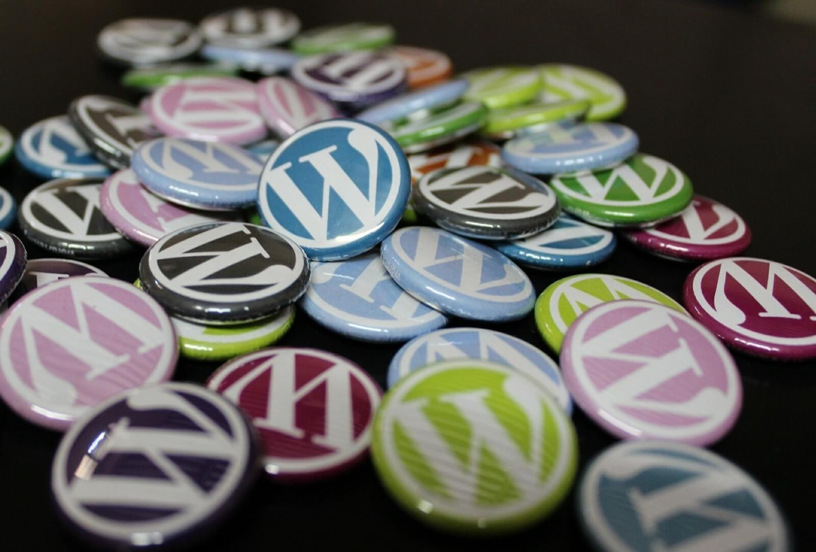 WordPress Multisite WordPress badges